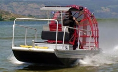 Working Airboat
