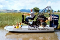 Airboat and kids