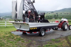 Airboat Trailer