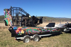 Airboat Custom Wrap