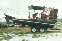 18 x 8 Ice Work Airboat cw Canopy