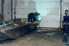 Welding Airboats