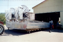 Double-wide Airboat