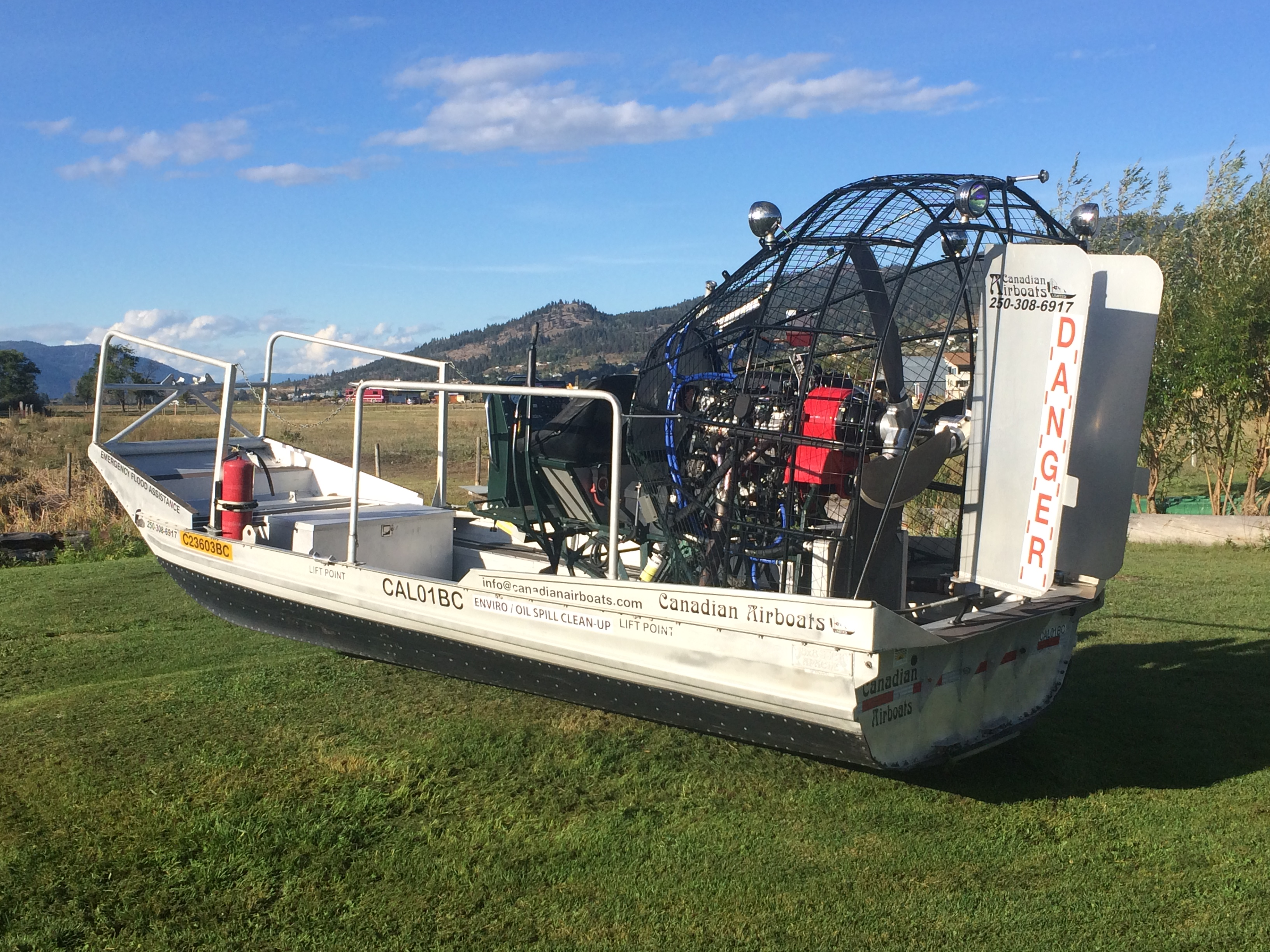 Airboat Engines And Drives