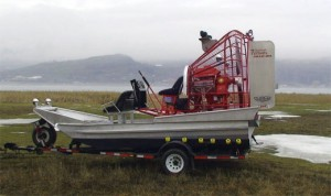 Canadian Airboats 15X7 Red Raptor